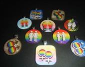 Pingente Símbolos LGBT