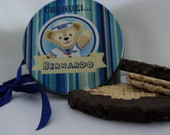 Lata de biscoito wafer