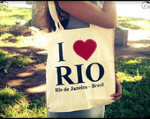 Ecobag I LOVE RIO