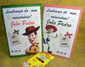 Caderninho colorir - Toy story
