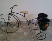 Bicicleta com vaso