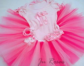 Conjunto bailarina Rosa claro com pink