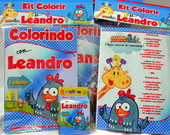 Revista Kit d Colorir Galinha Pintadinha