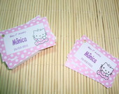 Mod.109 Tag Lembrancinha Hello Kitty
