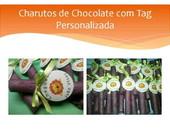 Charuto de Chocolate para maternidade