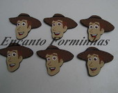 Apliques decorativos 7CM Woody TOY STORY