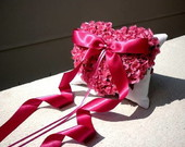 Porta alian�as LOVE & ROSES com strass