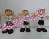 MINI BONECO TORCEDOR DO CORINTHIAS