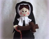 Boneca Sta BERNADETE de LOURDES