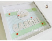 Quadro Personalizado com Scrap