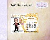 Save the Date Im� - 6x8cm