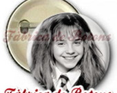 BOTON 2,5cm HERMIONE HARRY POTTER