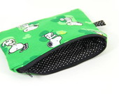 Necessaire Snoopy Green