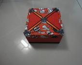 Caixa  Pequena em patchwork embutido