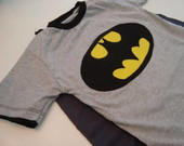 Camiseta Batman com capa!