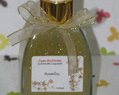 Sabonete Com Gliter Dourado 200ml
