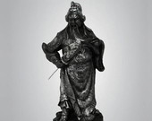 Samurai Kwan Kung - Escultura
