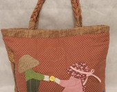 Bolsa Sunbonnet ( Bolsa tipo sacola)