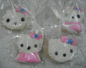Biscoito Modelado: Hello Kitty