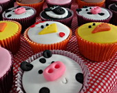 Cupcakes Fazendinha (Grande)
