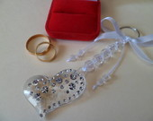 Lembrana Casamento Chaveiro Strass