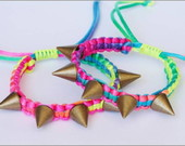 Pulseira Neon com Spike