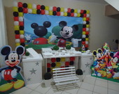 Decora��o Clean Mickey