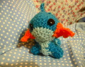 Chaveiro Mudkip - Amigurumi