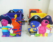 Porta L�pis Backyardigans Pirata