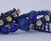Joguinho de Pulseiras - Azul Royal e Mar