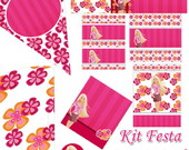 Kit para imprimir - Barbie Teen
