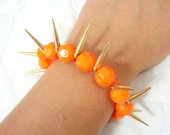 Pulseira mianga com spike