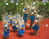Conjunto de flores secas para festas I