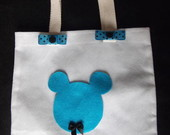 Eco Bag Tema Mickey Baby e Minnie Baby