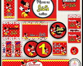 Kit Digital Personalizado da Minnie