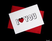 Cart�o I Love You