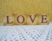 LOVE VINTAGE - Cubos Decorativos