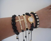 Kit Pulseiras Coleo Glamour