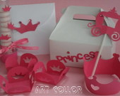 Festa princesa pink