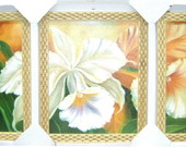 QUADRO TRIO 50X70 FLORAL