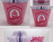 Bloco de Anotaes/Notas Cupcake 3D