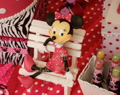 Festa Minnie Rosa - Loca��o Personagens
