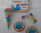 Kit Festa 70 Ps Galinha Pintadinha