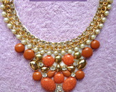 Colar Maxi Orange