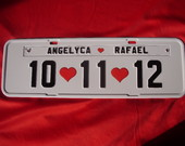 Placa Angelyca e Rafael