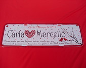 PLACA CARLA E MARCELLO