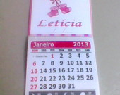MINI CALENDRIO PERSONALIZADO