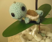 Chaveiro Squirtle- Amigurumi
