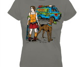 Camisa Feminina Scooby