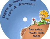 CD PERSONALIZADO PEQUENO PRNCIPE